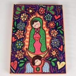 Cuadro colorido de Virgen Maria 6