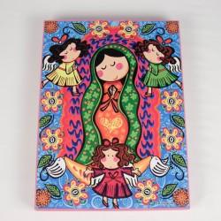 Cuadro colorido de Virgen Maria 5