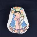 Almohadón chico de la Virgen de San Nicolás