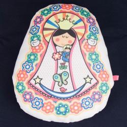 Almohadon mediano de Virgen maria 3