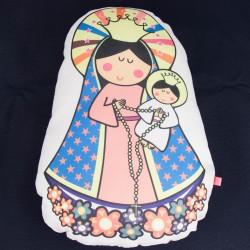 Almohadon grande de Virgen maria 2