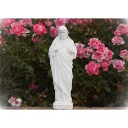 Imagen de pie cemento Sagrado Corazón de Jesús 1