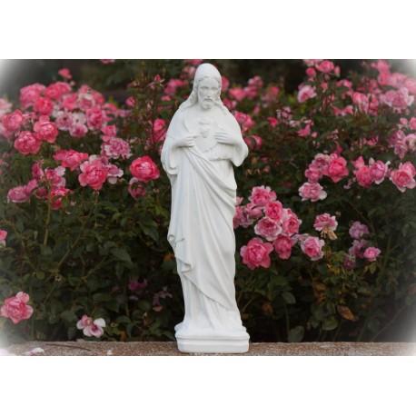Imagen de pie cemento Sagrado Corazón de Jesús 2