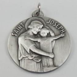 Cunero San Jose con el Niño metal, 60mm