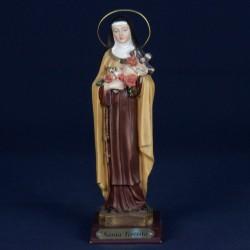 Santa Teresita del Niño Jesús, 20cm (resina)