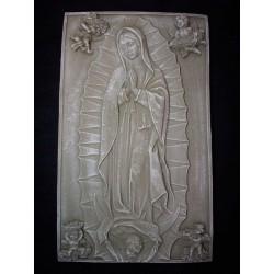Tabla Virgen de Guadalupe, cemento