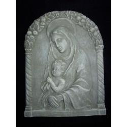 Virgen de Florencia, cemento