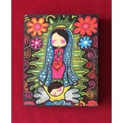 Cuadro Virgen de Guadalupe 2, chico.