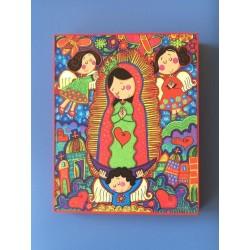 Cuadro Porfis Virgen de Guadalupe