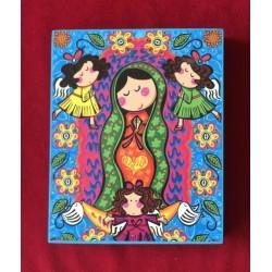 Cuadro Porfis Virgen de Guadalupe 5, chico