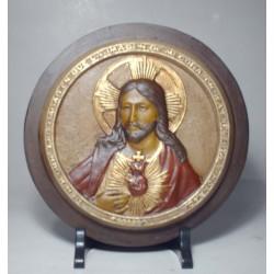 Sagrado Corazon Medallon Redondo Nº 1