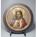 Sagrado Corazón de Jesús, medallón grande