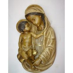 Virgen de Siena Nº1 Marfil