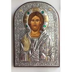 Icono de Jesús repujado, capilla.