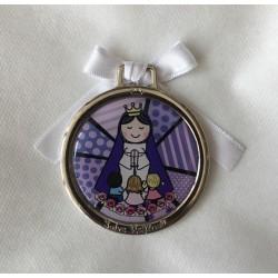 Cunero Virgen Niña, Salve Regina