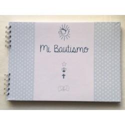 Album Bautismo, celeste, Salve Regina.