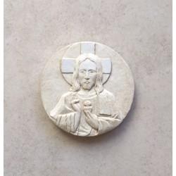 Sagrado Corazón de Jesús redondo.