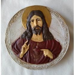 Sagrado Corazon Redondo sin Marco