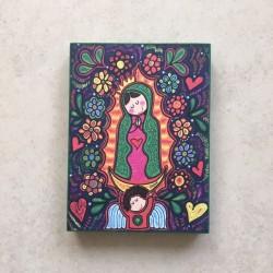 Cuadro Porfis Virgen de Guadalupe 6, chico