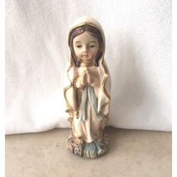Nuestra Señora de Lourdes, resina