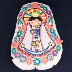 Almohadon grande de Virgen maria 3