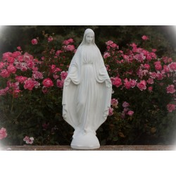 Imagen de pie cemento Virgen Milagrosa 2