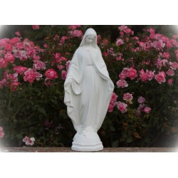 Imagen de pie cemento Virgen Milagrosa 3