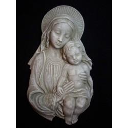 Virgen de la Dulzura, cemento