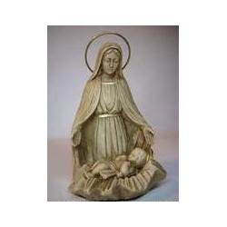 Virgen con Niño en Cuna
