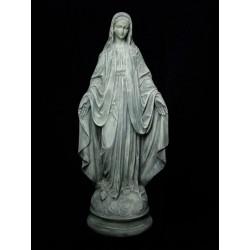Virgen Milagrosa, cemento