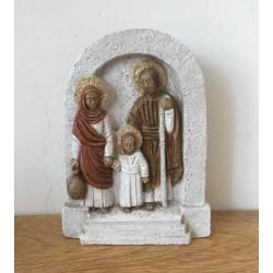 Sagrada Familia, color. Taller de Belén.