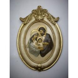Sagrada Familia Busto Nº16 con Marco Vintage