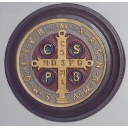 Medallon San Benito 13cm