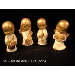 Angeles Orquesta 4 Piezas
